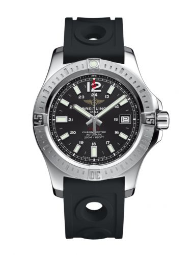 Breitling A1731311.BE90.225S : Colt 41 Automatic Volcano Black / Rubber