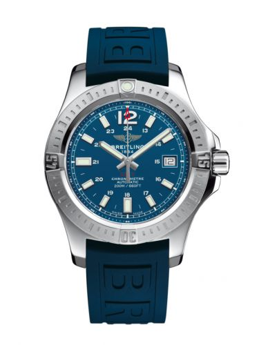 Breitling A1731311.C934.148S : Colt 41 Automatic Mariner Blue / Rubber