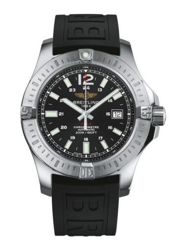 Breitling A1738811.BD44.152S : Colt 44 Automatic Volcano Black / Rubber
