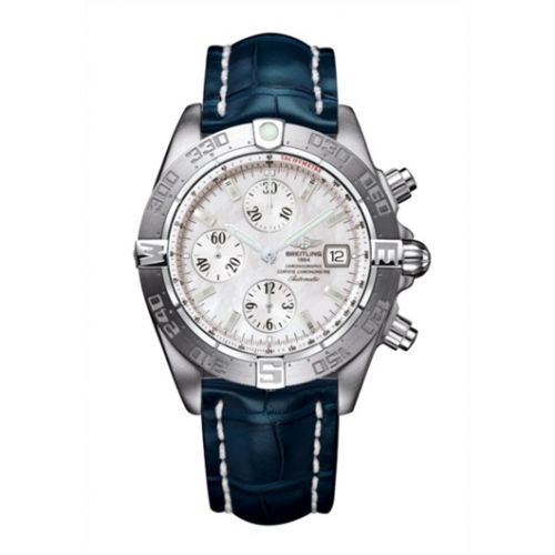 Breitling A1336410/A569/731P : Galactic Chronograph II Stainless Steel / MOP