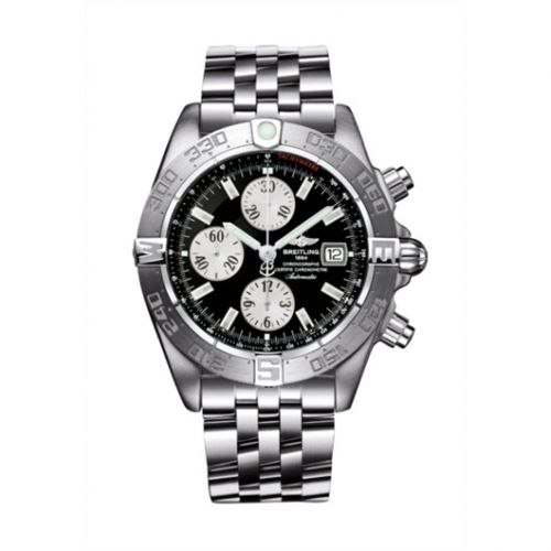 Breitling A1336410/B719/379A : Galactic Chronograph II Stainless Steel / Black