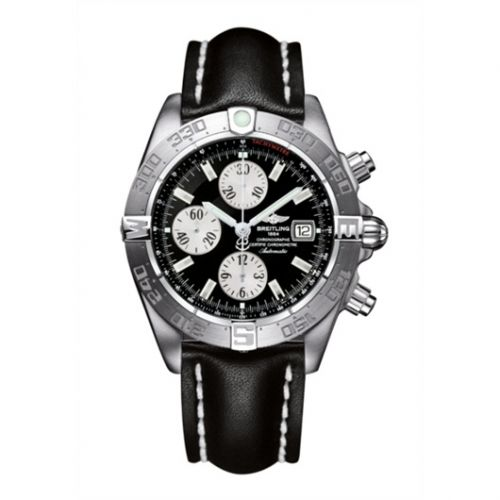 Breitling A1336410/B719/435X : Galactic Chronograph II Stainless Steel / Black
