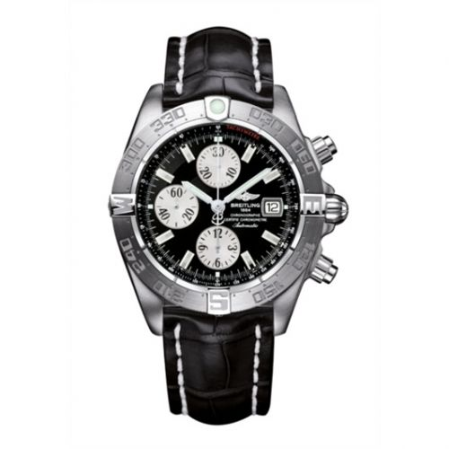 Breitling A1336410/B719/743P : Galactic Chronograph II Stainless Steel / Black