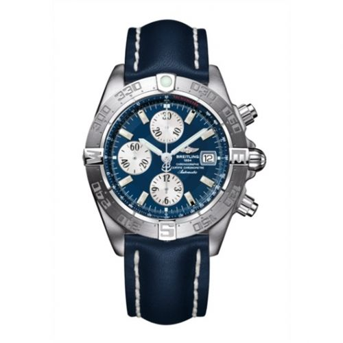 Breitling A1336410/C645/105X : Galactic Chronograph II Stainless Steel / Blue