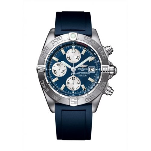 Breitling A1336410/C645/145S : Galactic Chronograph II Stainless Steel / Blue