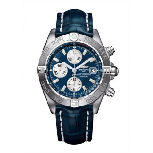 Breitling A1336410/C645/731P : Galactic Chronograph II Stainless Steel / Blue
