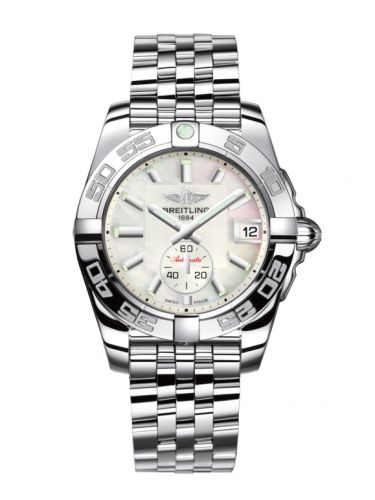 Breitling A3733012/A716/376A : Galactic 36 Automatic Stainless Steel / Pearl / Bracelet