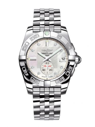 Breitling A37330121A1A1 : Galactic 36 Automatic Stainless Steel / Pearl Diamond / Bracelet