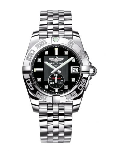 Breitling A3733012/BD02/376A : Galactic 36 Automatic Stainless Steel / Volcano Black Diamond / Bracelet