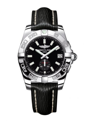 Breitling A37330121B1X1 : Galactic 36 Automatic Stainless Steel / Onyx Black / Sahara