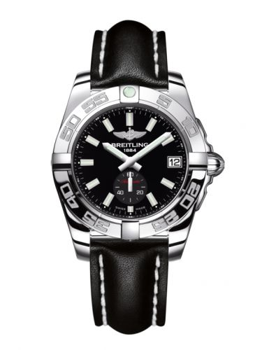 Breitling A3733012/BE77/414X/A16BA.1 : Galactic 36 Automatic Stainless Steel / Onyx Black / Calf