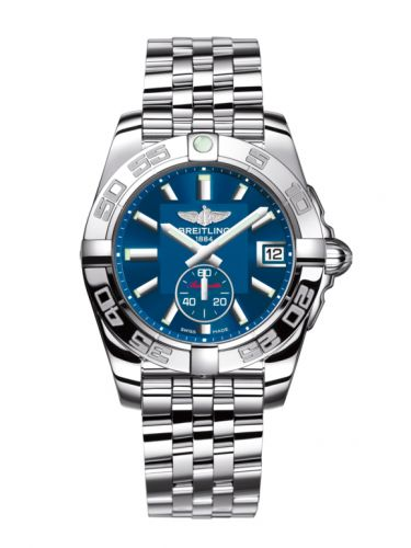 Breitling A3733012/C824/376A : Galactic 36 Automatic Stainless Steel / Gun Blue / Bracelet