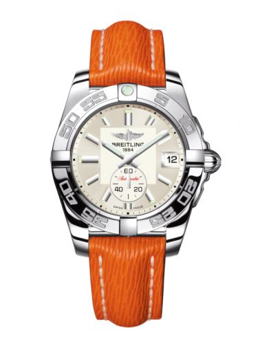 Breitling A37330121G1X1 : Galactic 36 Automatic Stainless Steel / Stratus Silver / Sahara