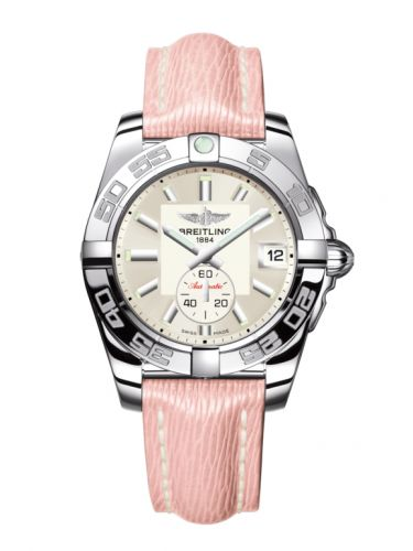 Breitling A3733012/G706/239X/A16BA.1 : Galactic 36 Automatic Stainless Steel / Stratus Silver / Sahara