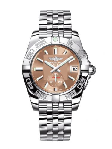 Breitling A3733012/Q582/376A : Galactic 36 Automatic Stainless Steel / Copperhead Bronze / Bracelet