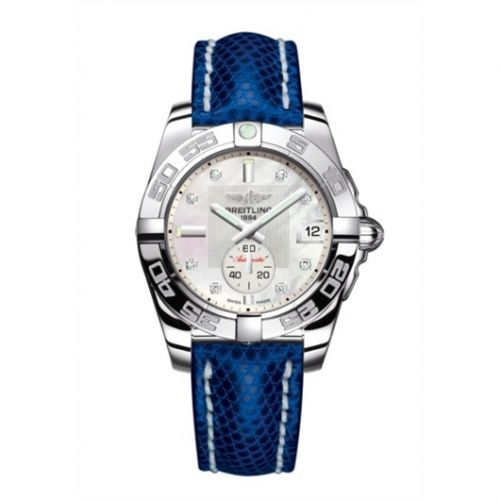 Breitling A3733012/A717/112Z/A16BA.1 : Galactic 36 Automatic Stainless Steel / Pearl Diamond / Teju