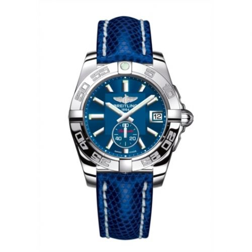 Breitling A3733012/C824/112Z/A16BA.1 : Galactic 36 Automatic Stainless Steel / Gun Blue / Teju