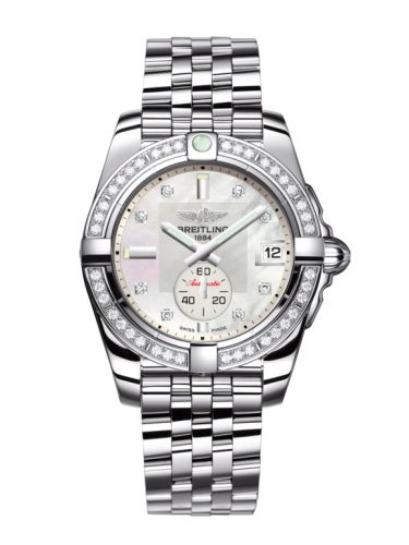 Breitling A37330531A1A1 : Galactic 36 Automatic Stainless Steel / Diamond / Pearl Diamond / Bracelet