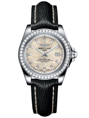 Breitling A7133053/A800/208X/A14BA.1 : Galactic 32 Sleek Edition Stainless Steel / Diamond / Pearl / Sahara