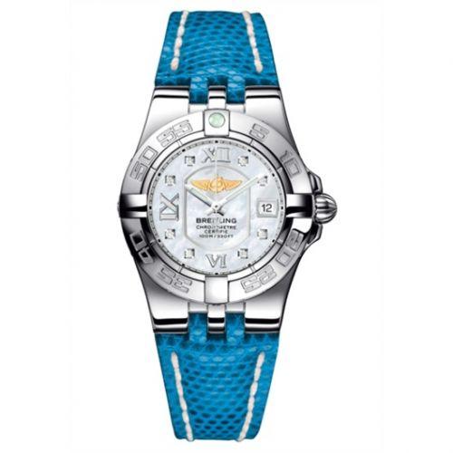 Breitling A71340L2.A679.169Z : Galactic 30 MOP / Blue Teju