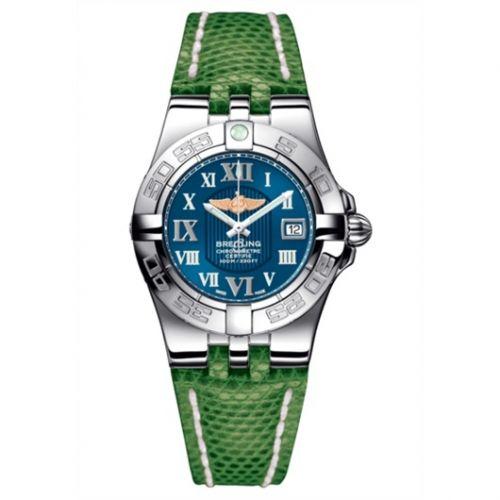 Breitling A71340L2.C778.166Z : Galactic 30 Blue / Roman / Teju