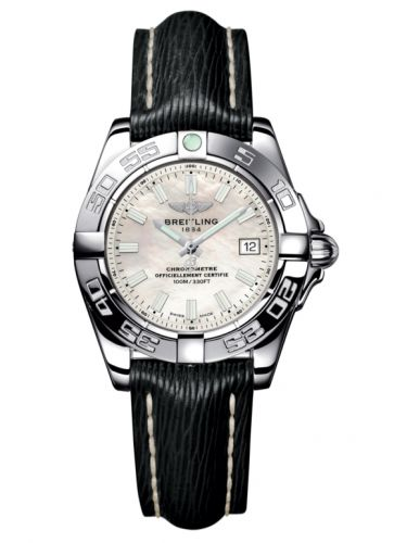Breitling A71356L2.A787.208X : Galactic 32 Stainless Steel / Pearl / Sahara