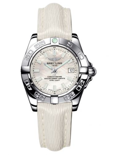 Breitling A71356L2.A787.235X : Galactic 32 Stainless Steel / Pearl / Sahara