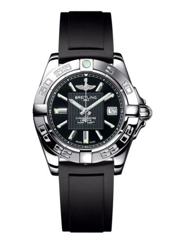 Breitling A71356L2.BA10.133S : Galactic 32 Stainless Steel / Trophy Black / Rubber