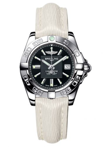 Breitling A71356L2.BA10.235X : Galactic 32 Stainless Steel / Trophy Black / Sahara