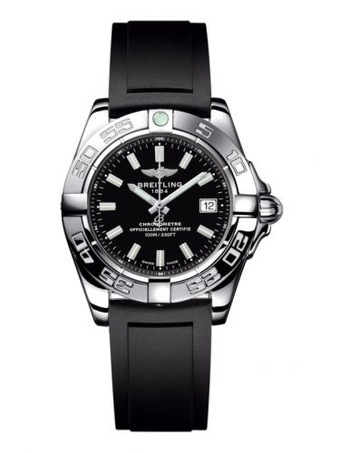 Breitling A71356L2.BE76.133S : Galactic 32 Stainless Steel / Onyx Black / Rubber