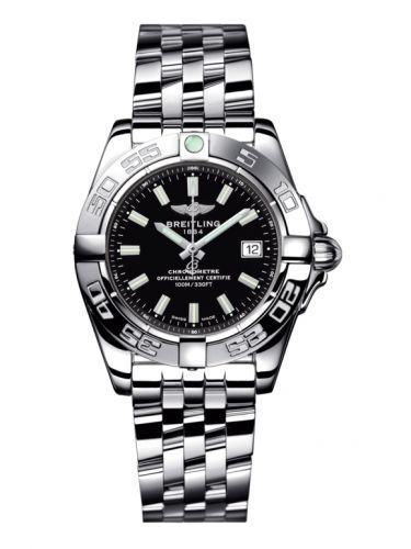 Breitling A71356L2.BE76.367A : Galactic 32 Stainless Steel / Onyx Black / Bracelet