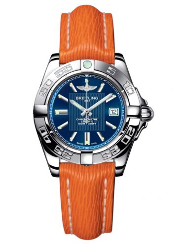 Breitling A71356L2.C811.212X : Galactic 32 Stainless Steel / Metallica Blue / Sahara