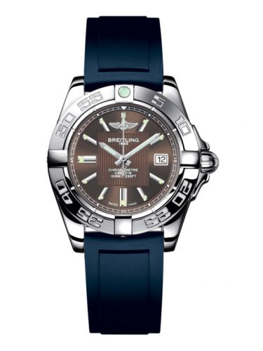 Breitling A71356L2.Q579.141S : Galactic 32 Stainless Steel / Solar Bronze / Rubber