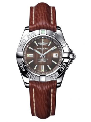 Breitling A71356L2.Q579.211X : Galactic 32 Stainless Steel / Solar Bronze / Sahara