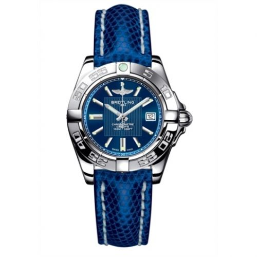 Breitling A71356L2.C811.127Z : Galactic 32 Stainless Steel / Metallica Blue / Teju