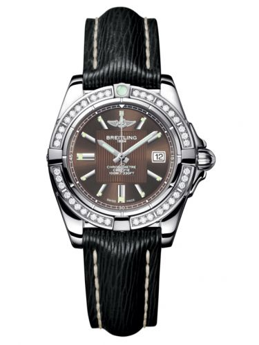 Breitling A71356LA.Q579.208X : Galactic 32 Stainless Steel / Diamond / Solar Bronze / Sahara