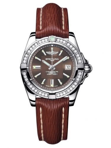 Breitling A71356LA.Q579.211X : Galactic 32 Stainless Steel / Diamond / Solar Bronze / Sahara