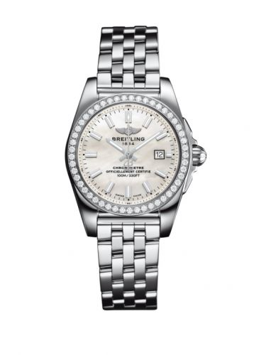 A7234853/A784/791A : Breitling Galactic 29 Stainless Steel / Diamond / Pearl / Bracelet