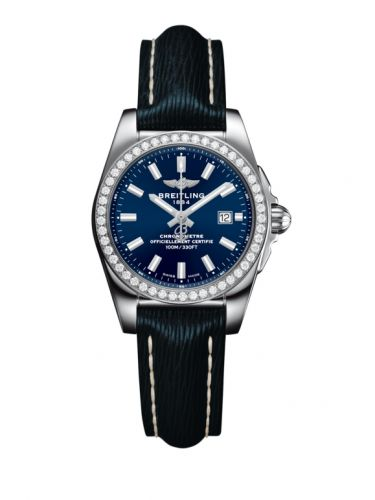 Breitling A7234853/C948/271X/A12BA.1 : Galactic 29 Stainless Steel / Diamond / Horizon Blue / Sahara