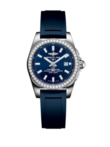 A7234853/C948/287S/A12S.1 : Breitling Galactic 29 Stainless Steel / Diamond / Horizon Blue / Rubber