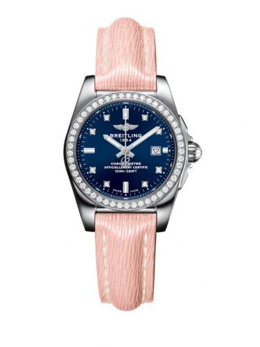 A7234853/C965/272X/A12BA.1 : Breitling Galactic 29 Stainless Steel / Diamond / Horizon Blue Diamond / Sahara