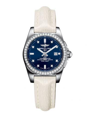 A7234853/C965/274X/A12BA.1 : Breitling Galactic 29 Stainless Steel / Diamond / Horizon Blue Diamond / Sahara