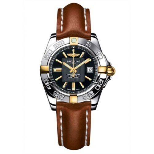 Breitling B71356L2.BA11.406X : Galactic 32 Two Tone Black / Calf