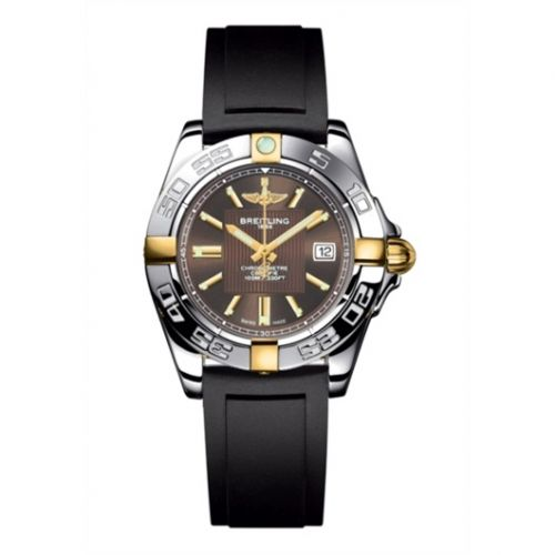 Breitling B71356L2.Q580.133S : Galactic 32 Two Tone Bronze / Rubber