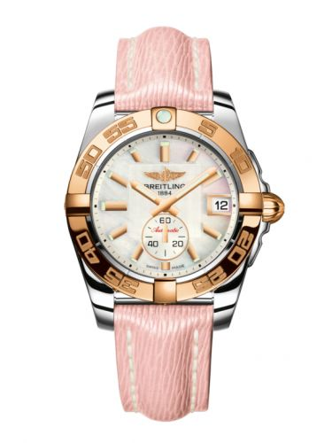 Breitling C3733012/A724/239X/A16BA.1 : Galactic 36 Automatic Stainless Steel / Rose Gold / Pearl / Sahara