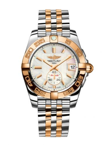 Breitling C37330121A1C1 : Galactic 36 Automatic Stainless Steel / Rose Gold / Pearl / Bracelet