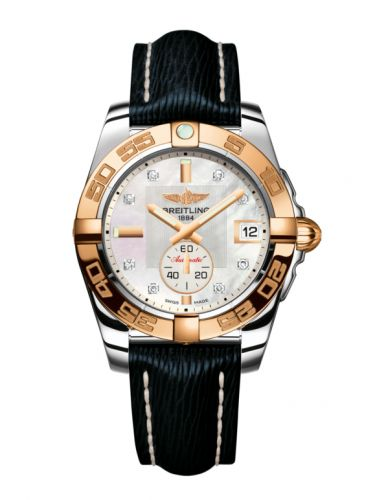 Breitling C3733012/A725/215X/A16BA.1 : Galactic 36 Automatic Stainless Steel / Rose Gold / Pearl Diamond / Sahara
