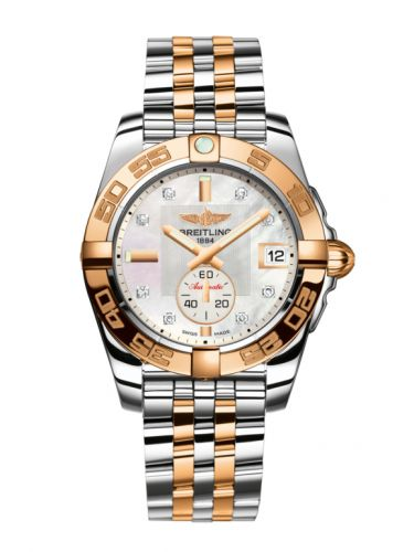 Breitling C37330121A2C1 : Galactic 36 Automatic Stainless Steel / Rose Gold / Pearl Diamond / Bracelet