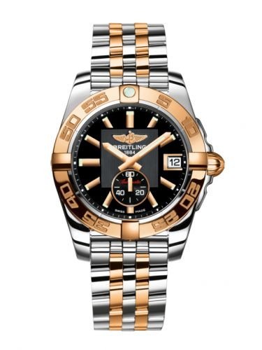C37330121B1C1 : Breitling Galactic 36 Automatic Stainless Steel / Rose Gold / Volcano Black / Bracelet