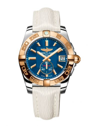 Breitling C3733012/C831/236X/A16BA.1 : Galactic 36 Automatic Stainless Steel / Rose Gold / Gun Blue / Sahara